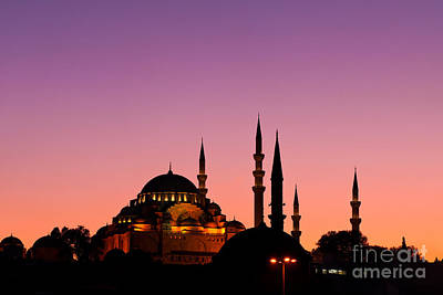 Photograph - Suleymaniye Sundown 02 by Rick Piper Photography