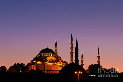 Photograph - Suleymaniye Sundown 03 by Rick Piper Photography