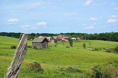 Photograph - Sullivan County Pennsylvania Countryside by Joel E Blyler
