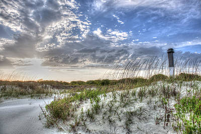 Photograph - Sullivan's Island Lighthouse by Dale Powell