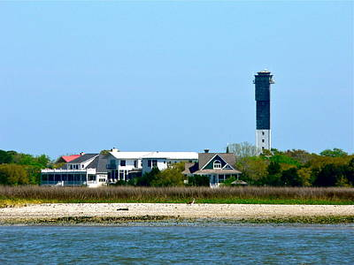 Photograph - Sullivan's Island Lighthouse by Jean Wright