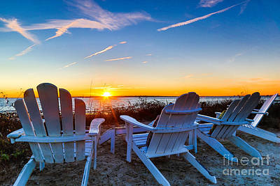 Photograph - Sullivan's Island Sunset by Donnie Whitaker
