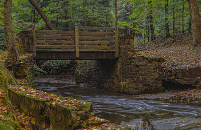 Photograph - Sulphur Springs Bridge by Torrey McNeal
