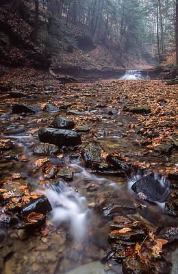 Photograph - Sulphur Springs Falls by Dale Kincaid
