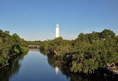 Photograph - Sulphur Springs Water Tower - Tampa Florida by John Black
