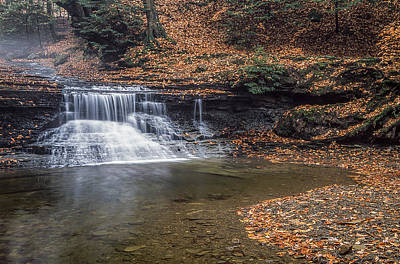 Photograph - Sulphur Springs Waterfall by Dale Kincaid