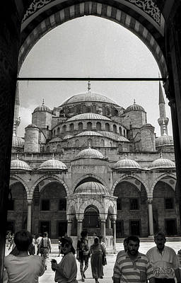 Wall Art - Photograph - Sultan Ahmed Mosque by Ryan Cosgrove