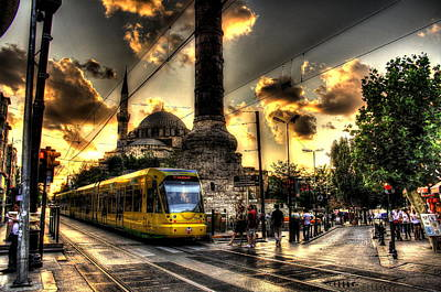 Mark Alexander Photograph - Sultan Ahmet District  by Mark Alexander