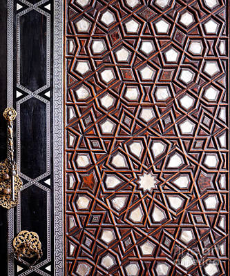 Photograph - Sultan Ahmet Mausoleum Door 01 by Rick Piper Photography