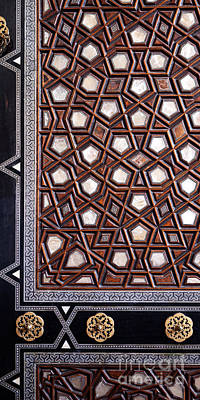 Photograph - Sultan Ahmet Mausoleum Door 02 by Rick Piper Photography
