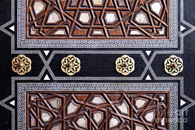 Photograph - Sultan Ahmet Mausoleum Door 03 by Rick Piper Photography
