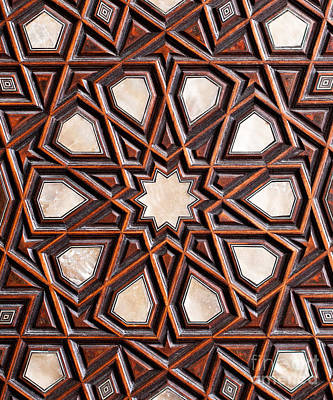 Photograph - Sultan Ahmet Mausoleum Door 04 by Rick Piper Photography
