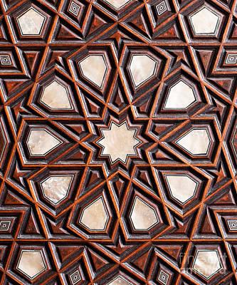 Photograph - Sultan Ahmet Mausoleum Door 04 by Rick Piper Photography