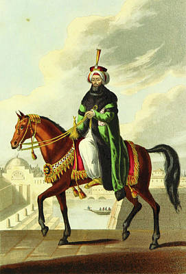 Constantinople Drawing - Sultan Mahmood, Constantinople In 1828, Istanbul by Litz Collection