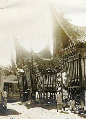 Sumatra Indonesia, Pastry Sheds, Anonymous Art Print