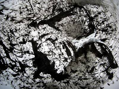 Sumi-e 130422-1 Art Print by Aquira Kusume