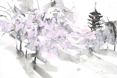 Millbury Painting - Sumiyo No.4 Five Story Pagoda by Sumiyo Toribe