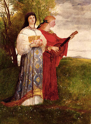 Lute Painting - Summer, 1873 by Arnold Bocklin