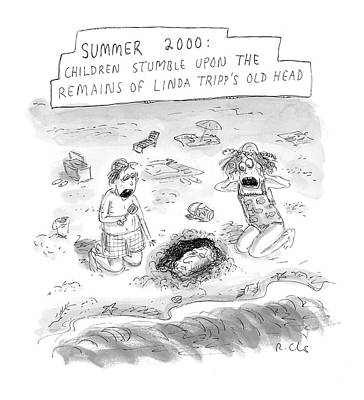 Plastic Surgery Drawing - 'summer 2000' by Roz Chast