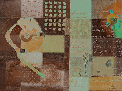 Series Mixed Media Mixed Media - Summer 2014 - J088097112-brown01 by Variance Collections