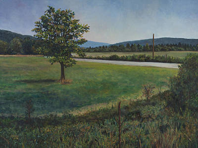 Painting - Summer Afternoon In Somerset Pa by David P Zippi