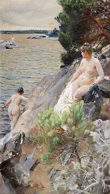 Figurative Digital Art - Summer by Anders Zorn
