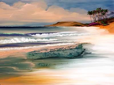 Summer Art Print by Anthony Fishburne