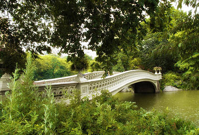 Summer At Bow Bridge Print by Jessica Jenney