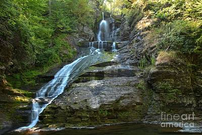 Photograph - Summer At Dingmans Falls by Adam Jewell