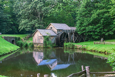 Photograph - Summer At Mabry Mill by Mary Almond