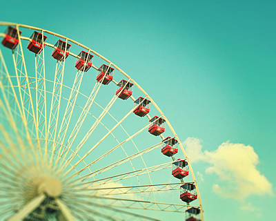 Photograph - Summer At Navy Pier by Melanie Alexandra Price