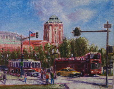 Painting - Summer At Navy Pier by Will Germino