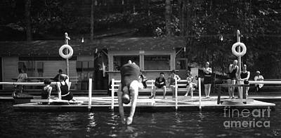 Photograph - Summer At The Lake 1928 by Vibert Jeffers