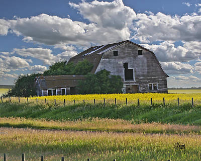 Photograph - Summer Barn 21 by Stan Kwong