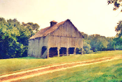 Summer Barn Original by Ryan Burton