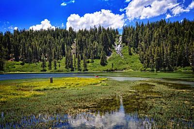 High Sierra Photograph - Summer Beauty At Twin Lakes by Lynn Bauer