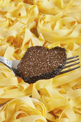 Truffle Photograph - Summer Black Truffle (tuber Aestivum by Nico Tondini