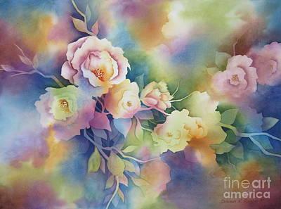 Deborah Brown Painting - Summer Blooms by Deborah Ronglien