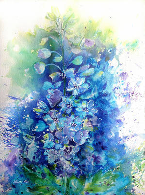 Painting - Summer Blues by Bette Orr