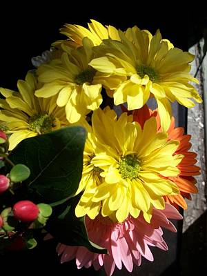 'summer Bouquet In Sunlight'  Art Print