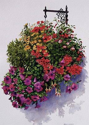 Summer Bouquet Art Print by Karol Wyckoff