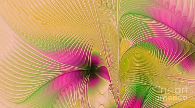 Summer Breeze Art Print by Deborah Benoit