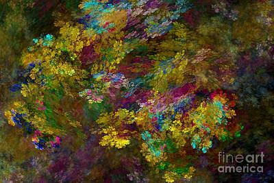 Digital Art - Summer Burst by Olga Hamilton