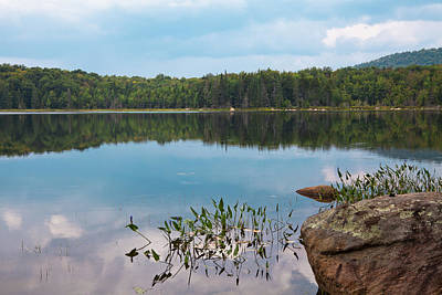 Photograph - Summer Calm On Bubb Lake by David Patterson