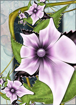 Digital Art - Summer Charm by Karla White