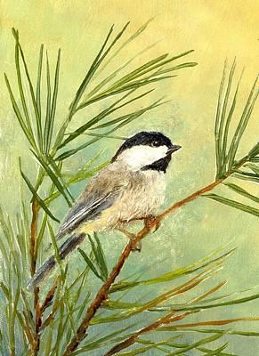 Summer Chickadee  Original by Robert Stump