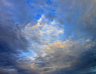 Summer Clouds Art Print by Kay Gilley