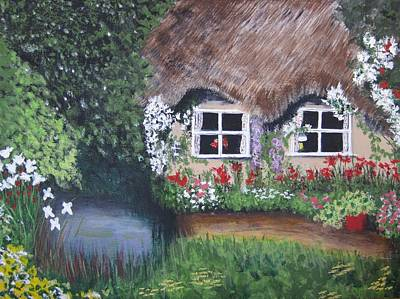 Painting - Summer Cottage by Denise Hills