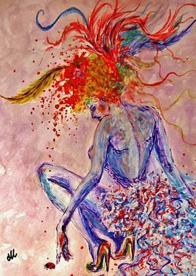 Summer.. Art Print by Cristina Mihailescu