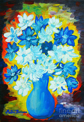 Painting - Summer Daisies by Ramona Matei